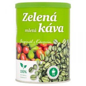 Zelená káva použití